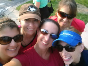 Me and Running Girls